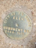 Image for City Of Fort Worth Monument No. 0444 3931