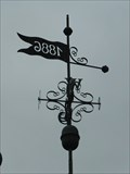 "Image for Weathervane ""1886"" Bad Neuenahr - Rheinland-Pfalz / Germany"