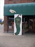 Image for Big Green Chili Pepper cutout, Hatch, NM