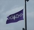 Image for Iroquois Confederacy flag - Nedrow, NY