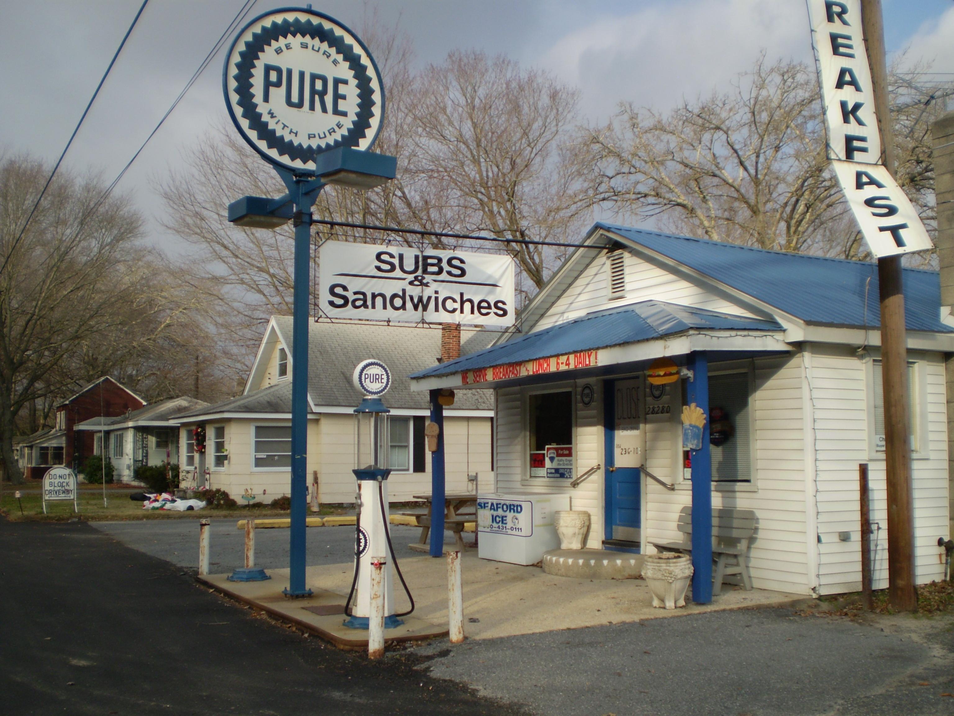 Pure Oil Company Gas Station - Millsboro, Delaware Image