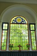 Image for Venetian Stained Glass Window - All Saints' Church - Church Lawton, Stoke- on- Trent, Staffordshire.