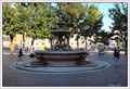 Image for The neo-classical fountain on Piazza Fontana, Milan, Italy