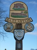 Image for Barlaston Village Sign - Stoke-on-Trent, Staffordshire, UK.