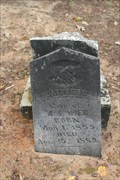 Image for FIRST Marked Grave in Walnut Creek Cemetery - Henderson County, TX