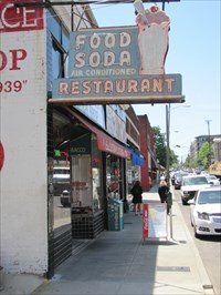 Pane 2 - Soda Shop and Sign, Nashville, Tennessee