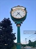 Image for Bristol County Savings Bank town clock - Franklin, Massachusetts
