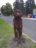 Image for Drevený medved / Wooden bear, Slavetín, Czechia