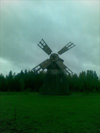 Old windmill - Humppila, Finland