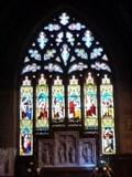 Image for Stained Glass Windows - All Saints Church - Sudbury, Ashbourne, Derbyshire, England, UK.
