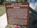 Image for Quartermaster Storehouse Museum - Ft DeSoto