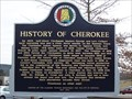 Image for History Of Cherokee - Cherokee, AL