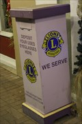 Image for Lions Club Donation Kiosk -- Georgetown TX