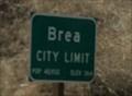 Image for Brea, California ~ Population 40,932