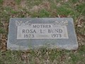 Image for 100 - Rosa L. Bund - Summit View Cemetery - Guthrie, OK