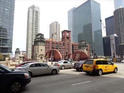 La Salle Street Bridge - Chicago, Illinois, USA.