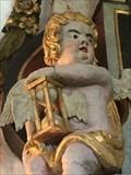 Image for Secher epitafium hourglass - Sødring, Denmark