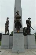 Image for World War 1 Memorial figures - St. Adalbert Cemetery, Niles, IL
