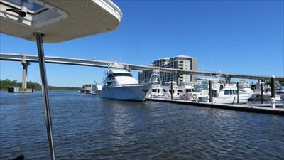 .veritas vita visited The Wharf Marina