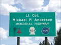 Image for Michael P. Anderson Memorial Highway - Cheney, WA