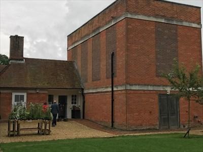 Back Entance to Exhibits, Burghclere, Newbury, Hampshire, England