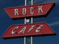 Image for Historic Route 66 - The Rock Cafe - Stroud, Oklahoma, USA.
