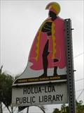 """Image for """"HOLUA-LOA PUBLIC LIBRARY""""   - Holualoa -Hawai`i"""
