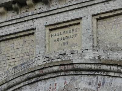 If the aqueduct is named after the place it should be Hazelhurst :)