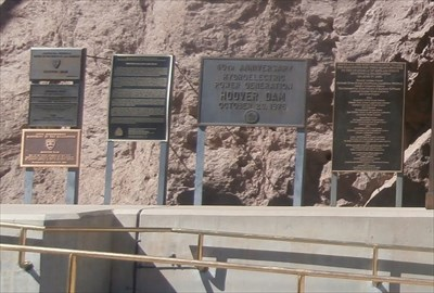 40th Anniversary Hydroelectric Power Generation Hoover Dam