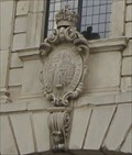 Image for Royal Coat of Arms for Kings Charles I and II -- Temple Bar Gate, City of London, UK