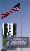 Image for POW/MIA Memorial Flag - Merrill, Oregon