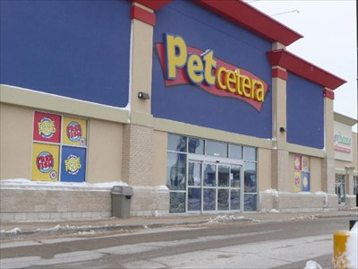 petcetera   winnipeg mb   pet stores on waymarking