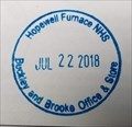 Image for Hopewell Furnace Buckley and Brooke Store Stamp - Elverson, PA