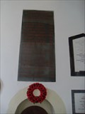 Image for WWI Memorial - All Saints' Church, Little Munden, Hertfordshire.