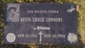 Image for Grave of Kevin 'Chuck' Connors- San Fernando, CA
