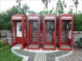 Image for Four K6 Red Telephone Boxes - Royal Naval Dockyard, Sandys Parish, Bermuda