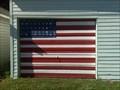 Image for American Flag Garage Door - Reed City, MI