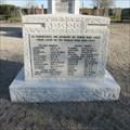 Image for Kirriemuir World War II Memorial - Angus, Scotland.