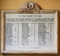 Image for West Wycombe  -Great War  Tablet Buck's