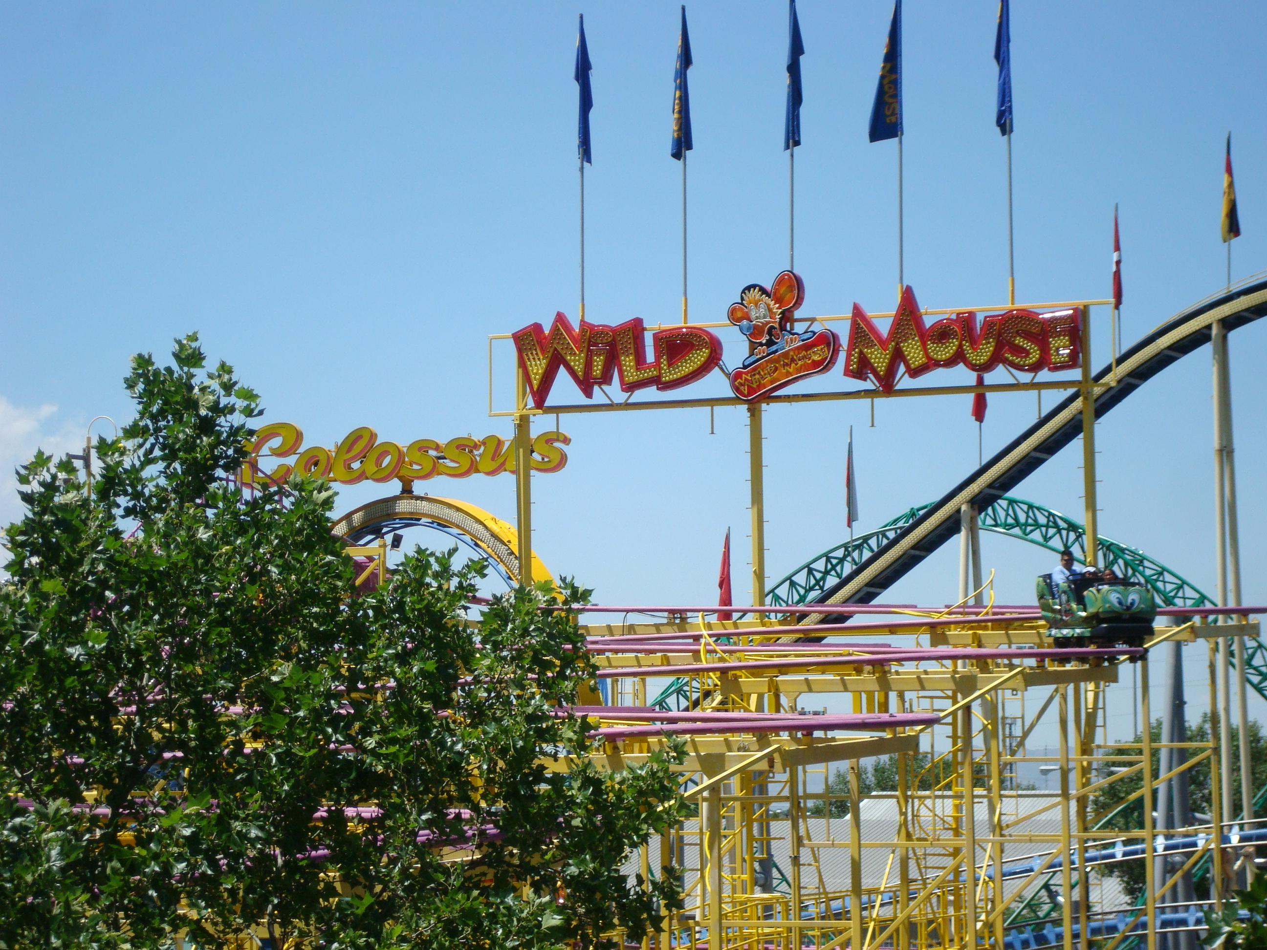 Wild Mouse - Lagoon Amusement Park - Farmington, Utah Image