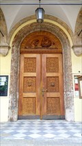 Image for Doorways at parish church - Steinach am Brenner, Tirol, Austria