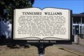 Image for Tennessee Williams - Mississippi Writers Trail-5 - Clarksdale, MS