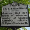 Image for J. C. B. Ehringhaus, A-39