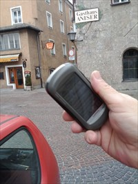 Aniser with my GPS