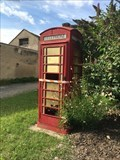 Image for Red Telephone Box - Mussidan, France