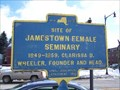 Image for Site of Jamestown Female Seminary - Jamestown, NY