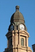 Image for Tarrant County Courthouse tower clock -  Fort Worth, Texas