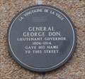 Image for General George Don - St. Helier, Jersey, Channel Islands