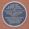 Image for Langtry Manor Hotel - Derby Road, East Cliff, Bournemouth, Dorset, UK