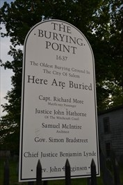The Burying Point [Salem]